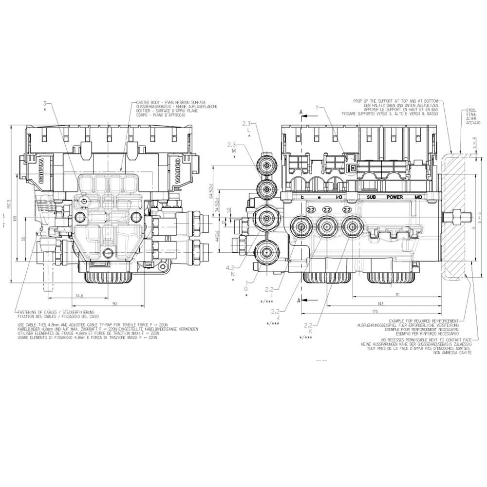 wabco ebs-e vgm modulator basic - wabco - reminrichting