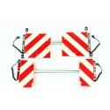 Broshuis set breedteverlichting | 220 stekker zwaailampsteun klapbord 420