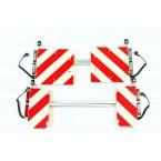 Set breedteverlichting | 220 stekker zwaailampsteun klapbord 420