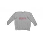 Broshuis Kinder Sweater wit met roze Broshuis logo. Verkrijgbaar in meerdere maten. Een leuk cadeau om te geven of te krijgen!