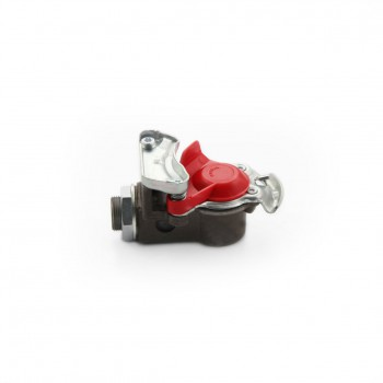 Koppelhandje | EU koppelingen voorraadleiding rood + filter
