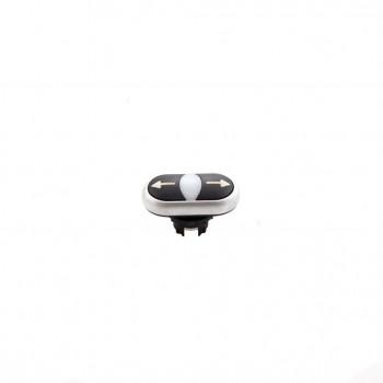 Dubbele drukknop [M22-DDl-S-X7/x7]